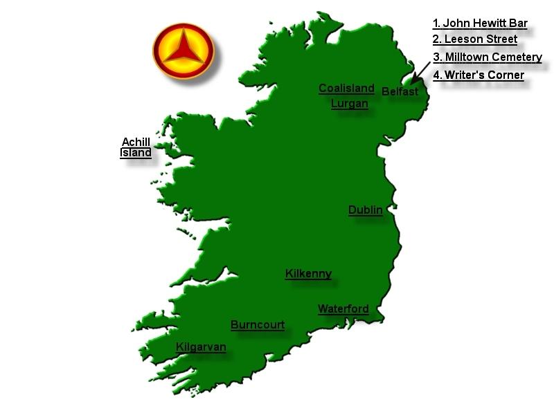 Map of ireland spanish civil war memorial sites gumiabroncs Images