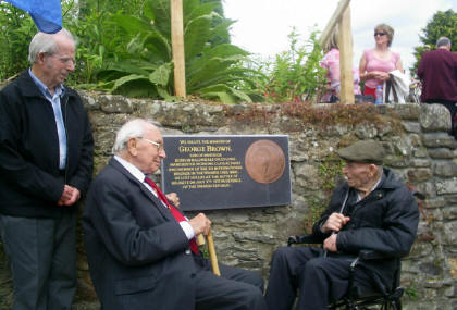 Bob with Jack Jones and local activist Paddy Murphy, Inistioge, Kerry, June 2008