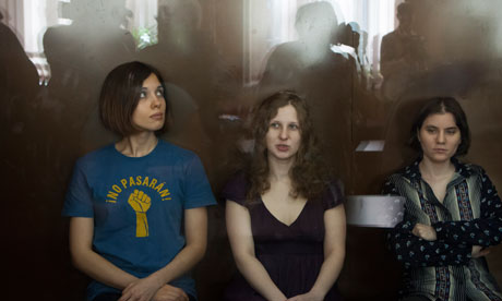 Pussy Riot band members on trial in Moscow